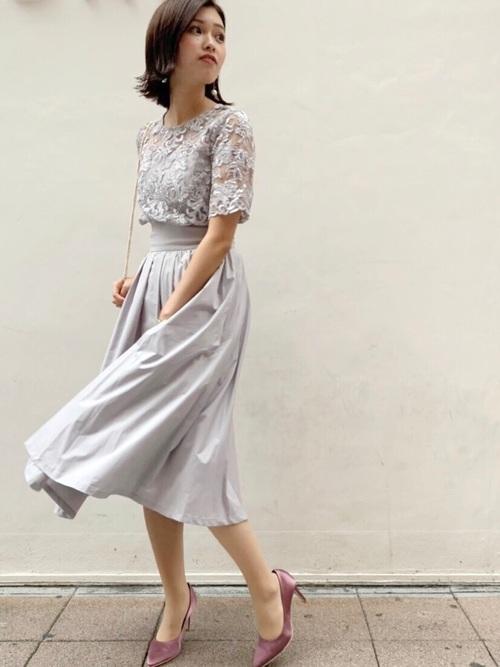 結婚式 服装 親族 女性 50代 夏