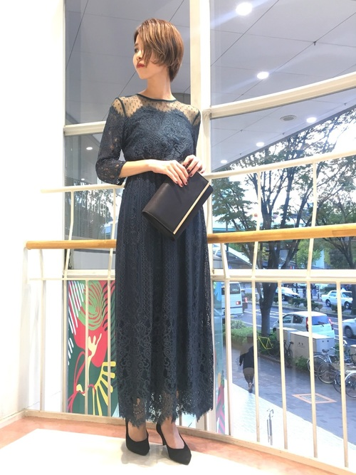 マタニティ 結婚式服装